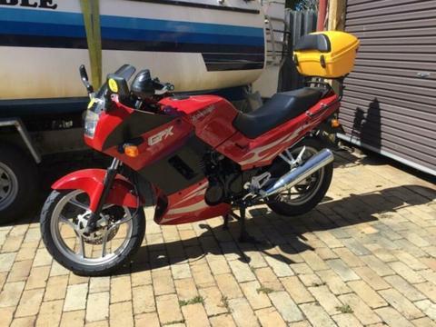 Motorcycle Kawasaki 250cc GPX