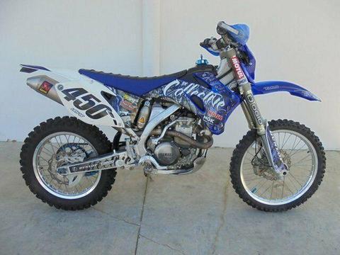 2010 Yamaha WR450F 450CC Enduro 449cc