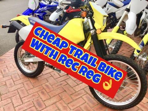 Suzuki DRZ250, cheap bike
