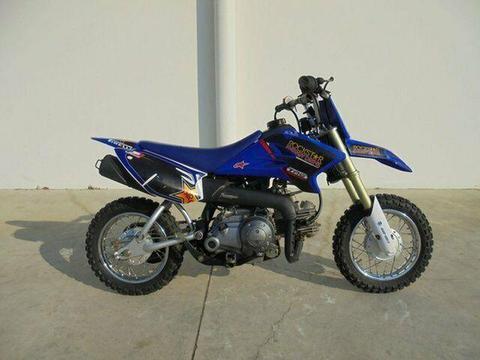 2009 Yamaha TTR50E 50CC Minibike 49cc