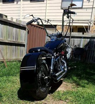 Honda shadow LAMS custom
