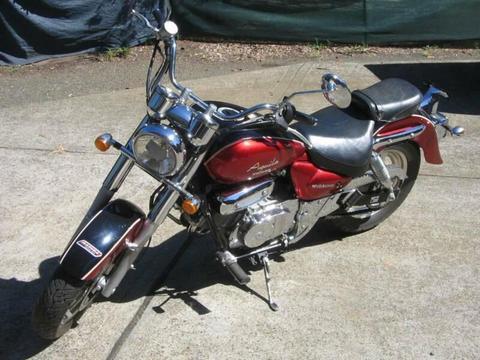 hyosung aquilla 250 motorcycle
