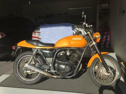 Yamaha SRV250 1997 Rare Yellow Cafe Racer