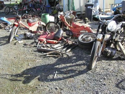 Honda postie motorbikes/ parts