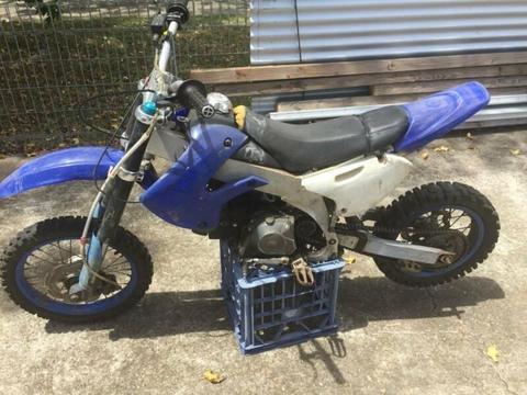 motor bike/trail bike/dirt bike/pit bike/thumpstar 125cc manual n