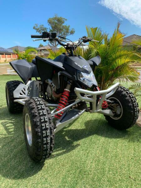 2008 Polaris Outlaw 525 Quad Bike