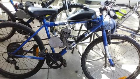 80cc motorized bike