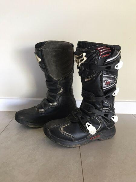 Fox Motorbike boots