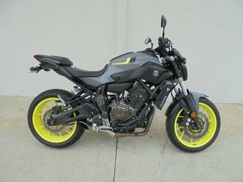 2016 Yamaha MT-07 LA 655cc