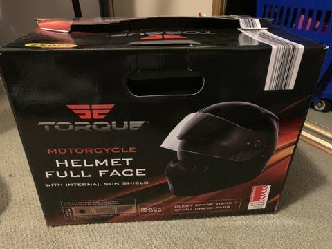 Motorcycle helmet brand new in box