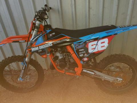 Ktm 2018 sx 85 like new