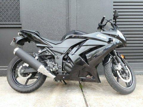 2012 Kawasaki Ninja 250R (EX250) 250CC Sports 248cc