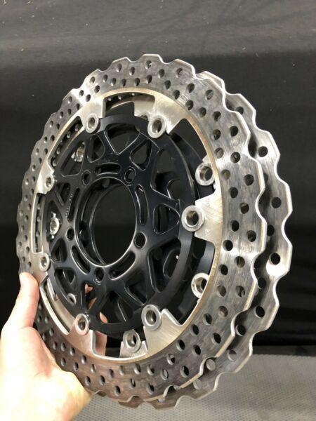 Kawasaki ninja 636 front brake rotors