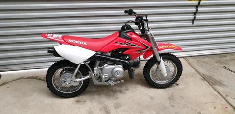 Honda CRF 50 and Yamaha PW 50 both perfect condition