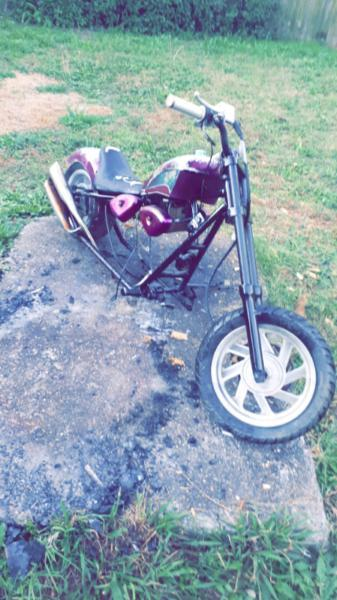 125cc chopper frame