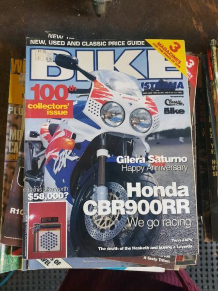 Bike Australia magazine's