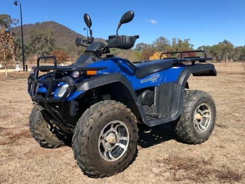 Atomic Krusher 300cc 4x4 quad bike