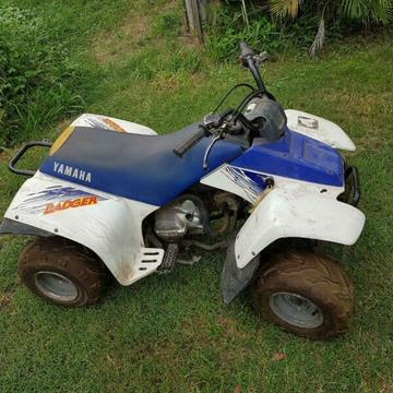 Yamaha 80cc badger quad bike