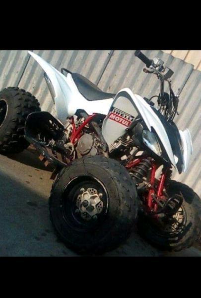 Yamaha Raptor 250cc