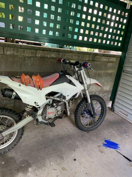 CRF big wheel BSE 150cc dirt bike (4 stroke oil cooled)
