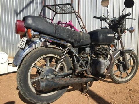 1981 Kawasaki KZ250 COMING TO ADELAIDE