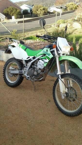 Kawasaki motor bike (unregistered)