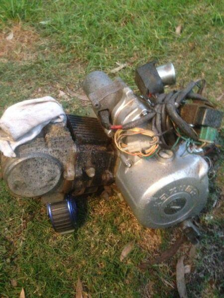 Kazuma 125 quad engine & other parts