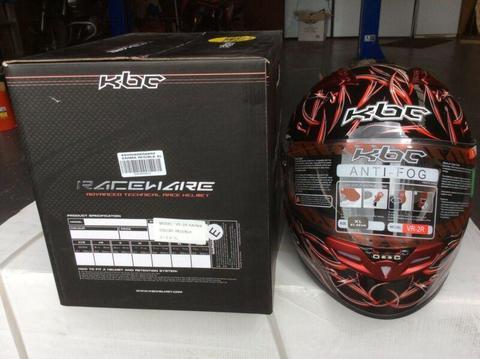 Motorcycle Helmet KBC Brand New in box