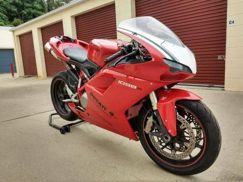 Ducati 1098 Testastretta club day track bike
