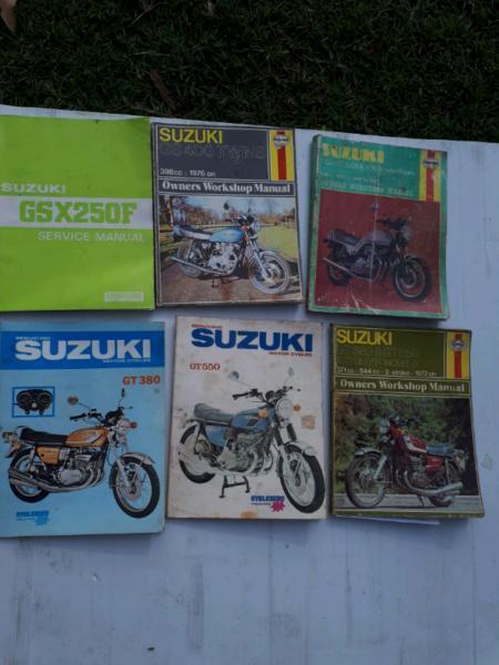 Suzuki Honda Yamaha Kawasaki repair manual