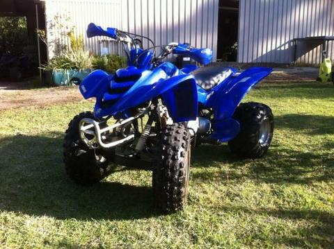 yamaha Raptor 80cc quad bike 2005