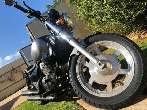 aquila GV250 full custom bobber $4000 or SWAP