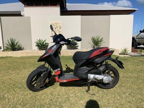 50cc Aprilla moped