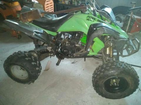 Atomic feral 250cc quad