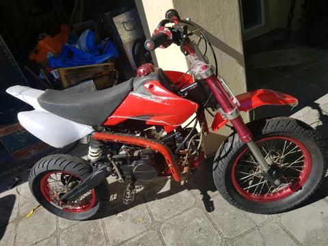 140cc motard pitbike