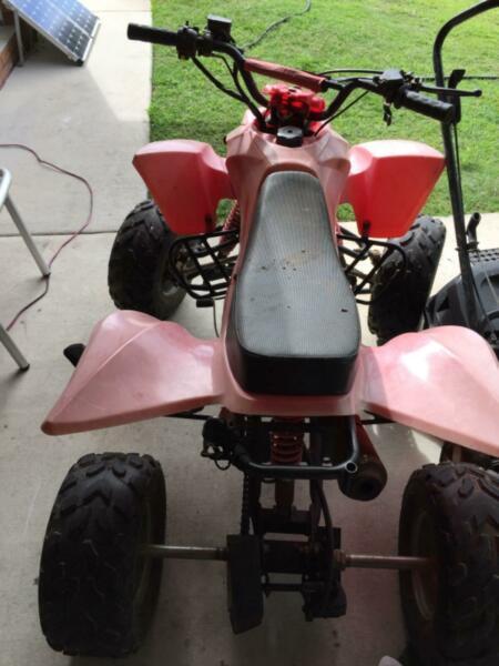 2007 110 cc Quad bike