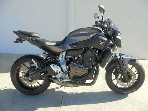 2014 Yamaha MT-07 655CC