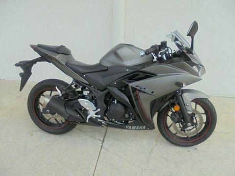 2016 Yamaha YZF-R3 ABS 300CC Sports 321cc