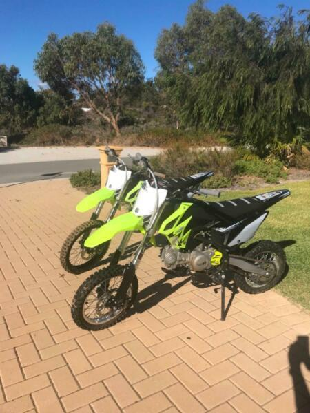TWO THUMPSTAR MOTOR BIKES $1750 FOR BOTH