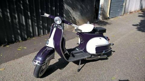 Vespa 150cc scooter 1966