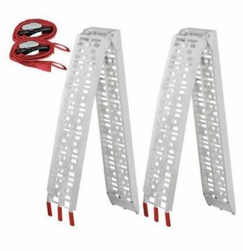 1pcs Aluminium folding loading ramp for bike ATV