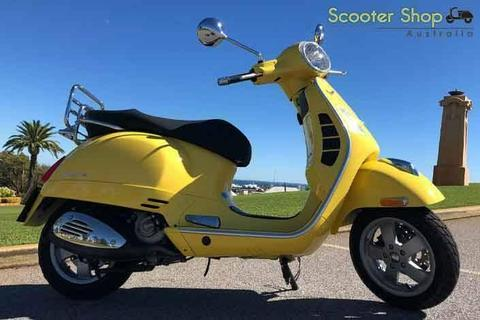 STAND OUT RARE VESPA GTS 250 IN GLOSS YELLOW!!!