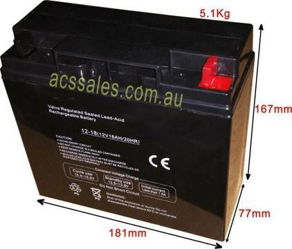 12V 18-20Ah Premium SLA Battery - new stocks