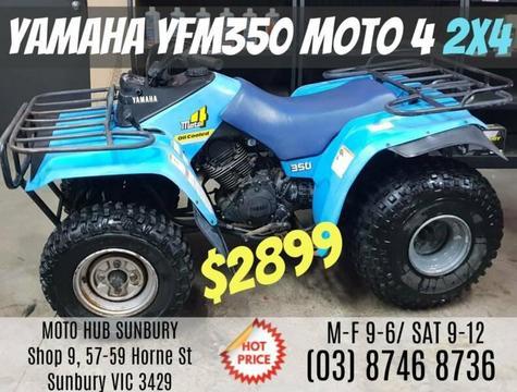 YAMAHA MOTO 4 YFM350 QUAD BIKE