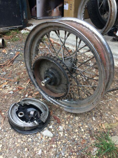 Triumph parts/ chopper bobber parts