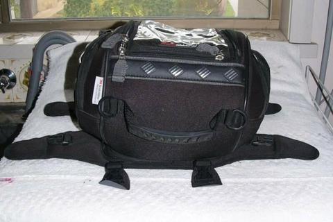 MOTODRY Motorbike TANK BAG - Ex Cond - Expandable
