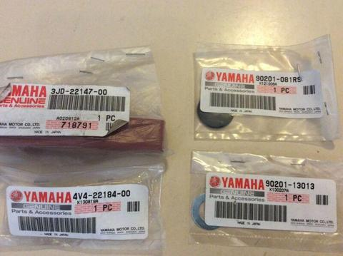 Yamaha chain guide TTR, WR parts