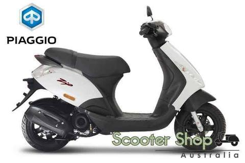NEW PIAGGIO ZIP 50cc SAVE $300 & FREE CLOTHING PACKAGE WORTH $239