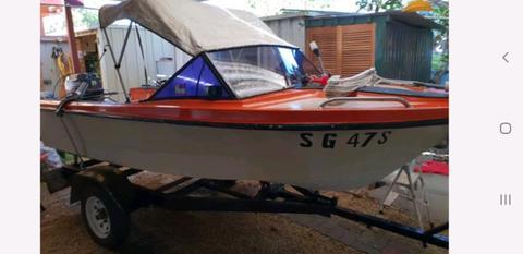 Boat swap for dirt bike