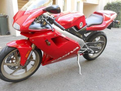 Cagiva Mito 2-stroke motorcycle 2005 6-speed